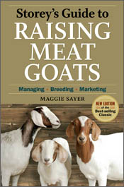 cover of Storey's Guide to Raising Meat Goats