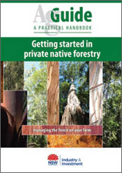 cover of Getting Started in Private Native Forestry