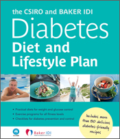 cover of The CSIRO and Baker IDI Diabetes Diet and Lifestyle Plan