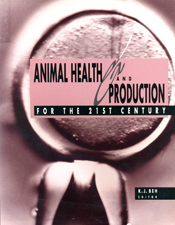 The cover image of Animal Health and Production for the 21st Century, feat