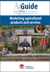 Cover image of Marketing Agricultural Products and Services features colla