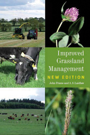 Cover image of Improved Grassland Management, features 5 square images of