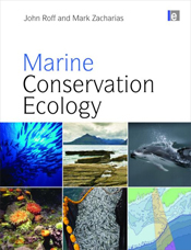Cover features six small square images of marine conservation ecology.