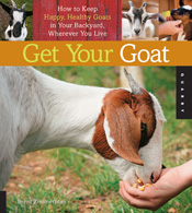 Cover image is a white and brown goat eating out of a hand.