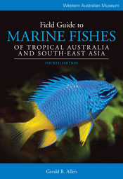 Cover is a bright blue fish with a yellow tail and fin, swimming in black