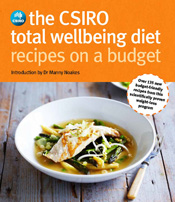 cover of The CSIRO Total Wellbeing Diet Recipes on a Budget