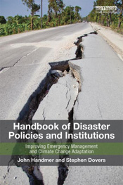 cover of Handbook of Disaster Policies and Institutions