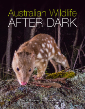 Cover image featuring a close up image of a quoll sniffing the ground at n