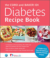 cover of The CSIRO and Baker IDI Diabetes Recipe Book