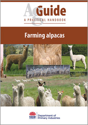 cover of Farming Alpacas