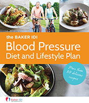 cover of The Baker IDI Blood Pressure Diet and Lifestyle Plan