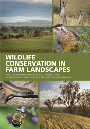Cover featuring images of farm landscapes, kangaroos, a wattle bird, a blu