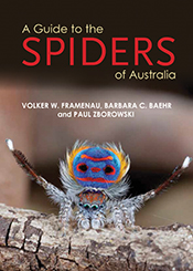 cover of A Guide to the Spiders of Australia