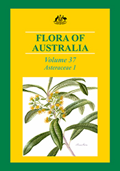 Cover image of Flora of Australia Volume 37, featuring an illustration of
