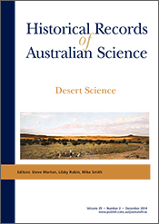 cover of Desert Science