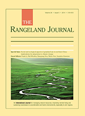 cover of Social and Ecological Aspects of Grassland Use in Northern China