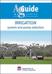 cover of Irrigation: System and Pump Selection