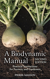 cover of A Biodynamic Manual