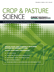 cover of Crop Sequences in Modern Australian Farming Systems