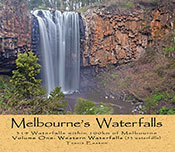 Cover image features a colour photograph of a waterfall.