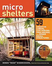 Images of various microshelters.