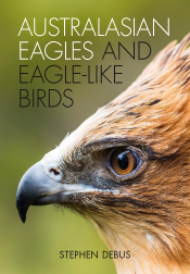 Cover featuring a close-up photograph of a profile of a Little Eagle head