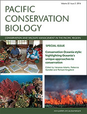 cover of Conservation Oceania Style: Highlighting Oceania's Unique Approa