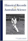 Historical Records of Australian Science
