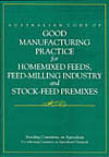 Cover image for Australian Code of Good Manufacturing Practice for Homemix
