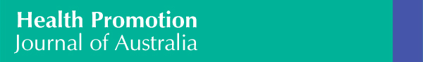 Health Promotion Journal of Australia